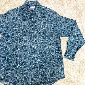 Lucky Brand Dungarees Linen Shirt